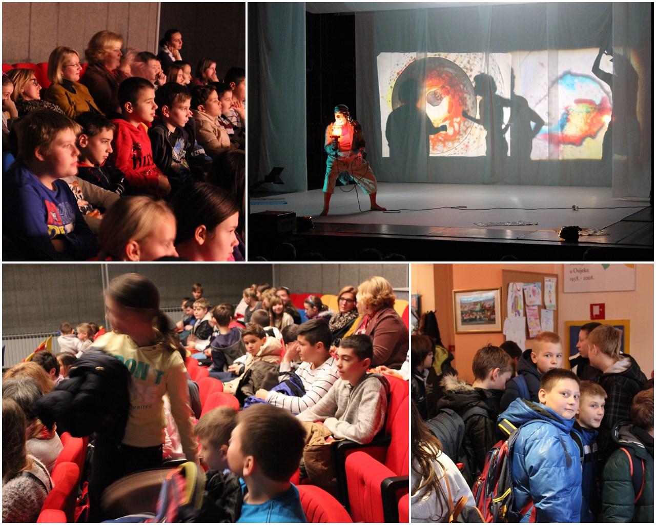 Posjet Dječjem kazalištu u Osijeku